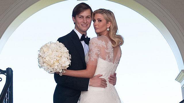 Vjenčanje poznatih: Ivanka Trump i Jared Kushner